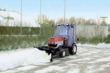 大型驾驶扫雪车